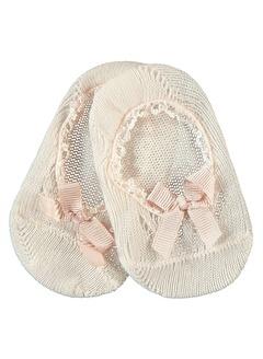 Katamino Katamino Kız Çocuk Babet Çorap 1-7 Yaş Pudra Katamino Kız Çocuk Babet Çorap 1-7 Yaş Pudra